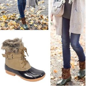 Shoes - Taupe Must Have Duck Boots